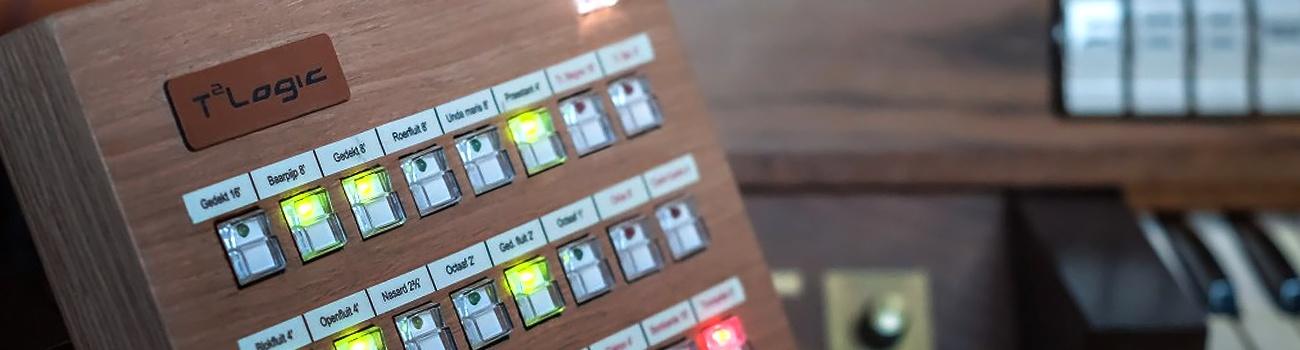 T2Logic - elektronika - organy piszczałkowe - części